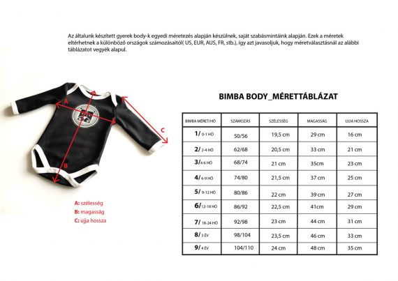 bimba_body_sizechart